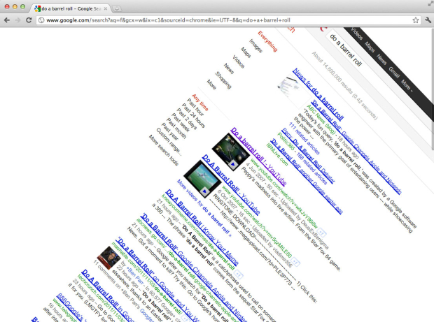 get in on the hunt for google easter eggs google easter egg has youtube doing the harlem shake 620x461