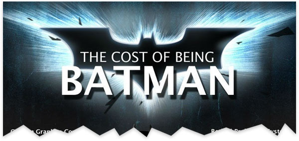 How Much Would It Cost to be Batman