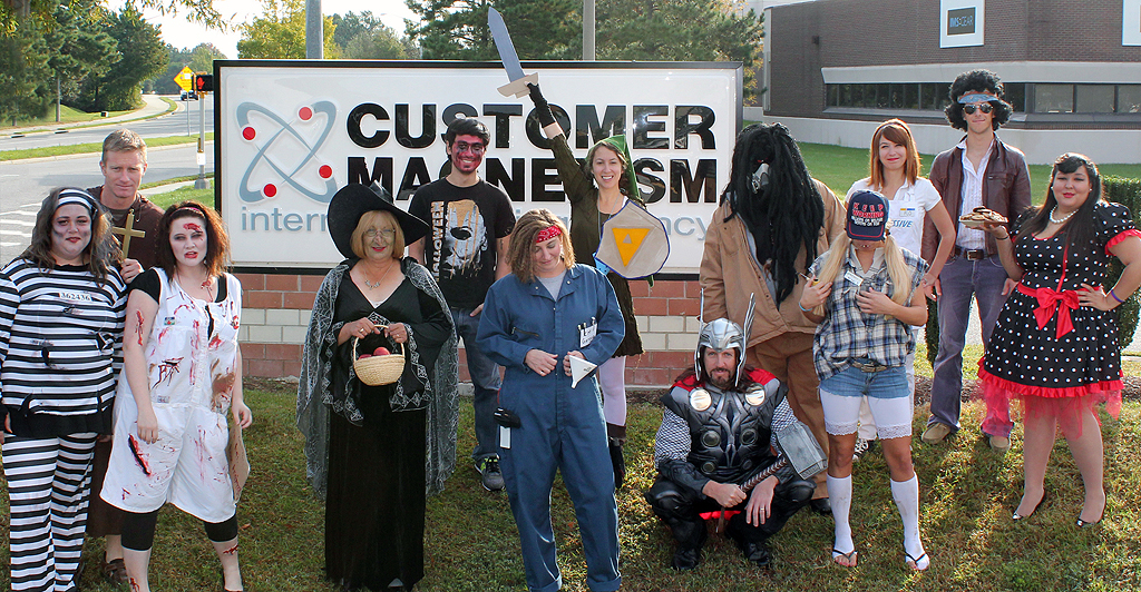 customer magnetism at halloween