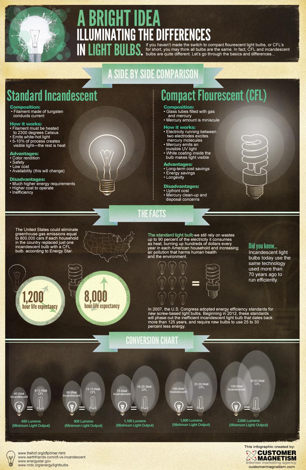 Light Bulb Facts