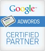 We're Google AdWords Certified Professionals