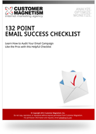 132-Point Email Marketing Checklist