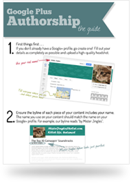Google Plus Authorship Guide