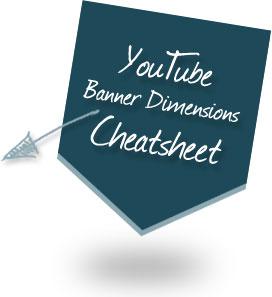YouTube Banner Dimensions Cheatsheet