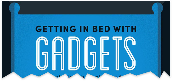 Late-Night Gadget Use Damages Your Sleep Cycle Infographic