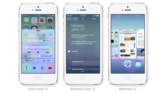 Apple Brings Out The IOS 7