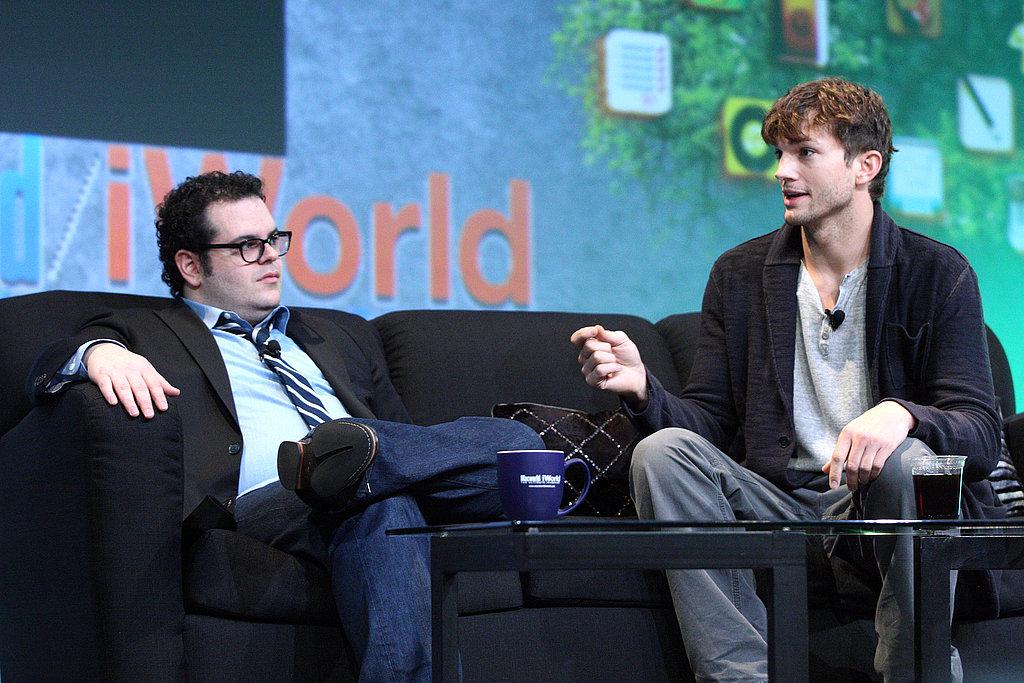 Ashton-Kutcher-Josh-Gad-Macworld