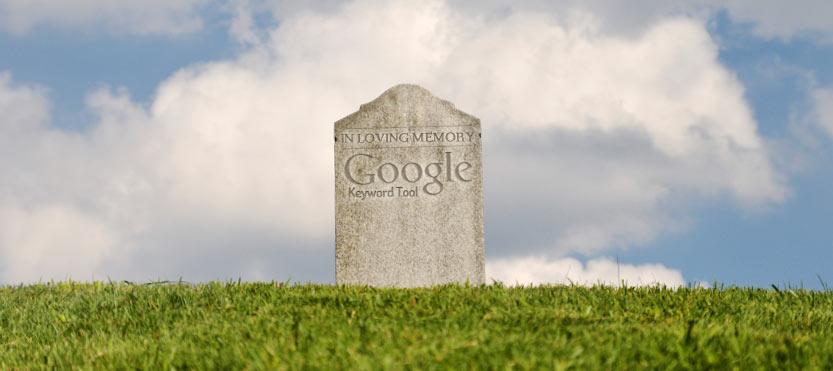 RIP Google Keyword Tool