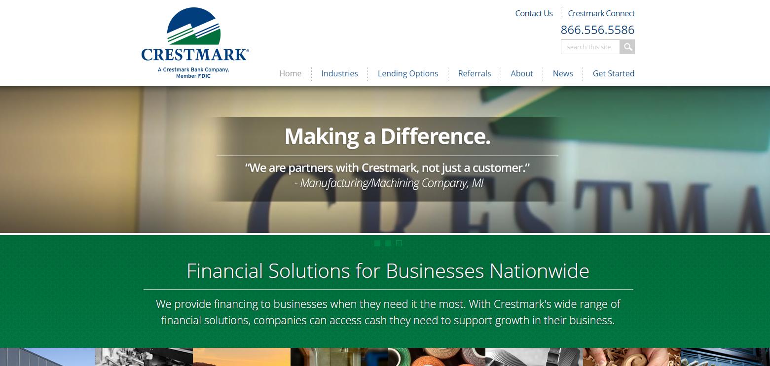 Crestmark screen shot