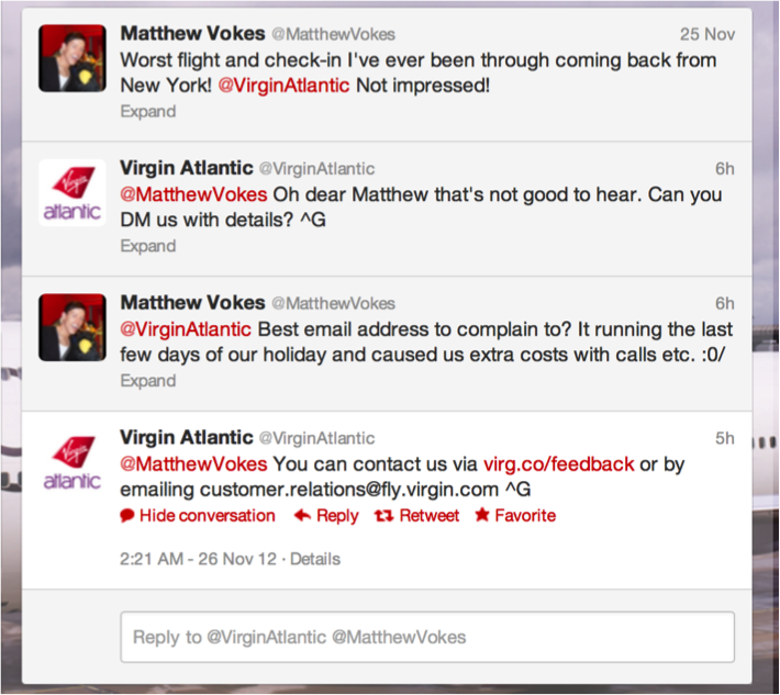 virgin atlantic customer complaints Read verified virgin atlantic customer reviews, view virgin atlantic photos, check  customer ratings and opinions about virgin atlantic standards.