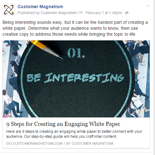 How to Promote a White Paper